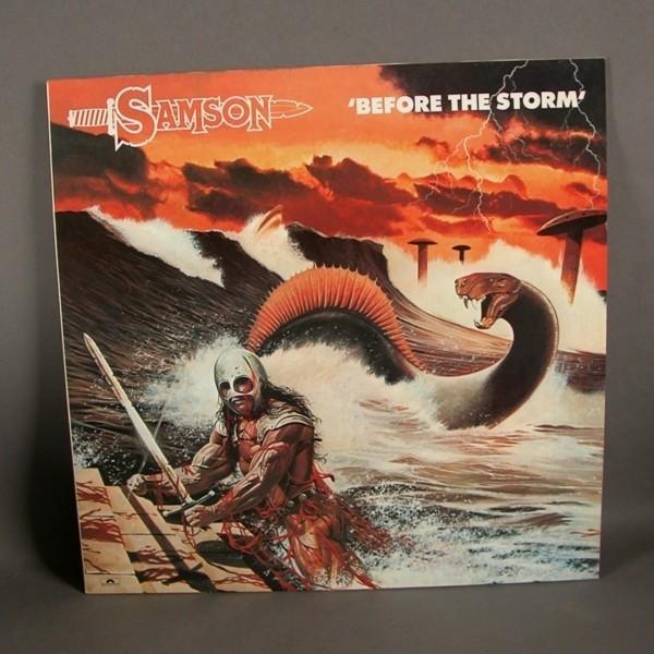 LP. Vinyl. Samson - Before...