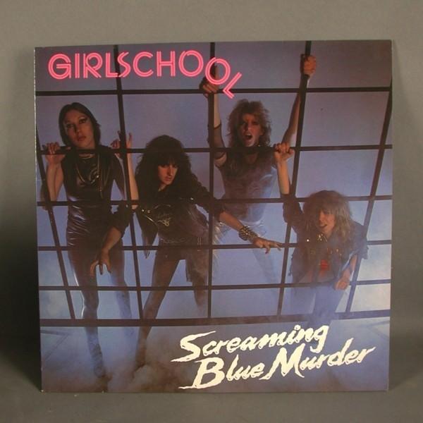 LP. Girlschool - Scraeming...