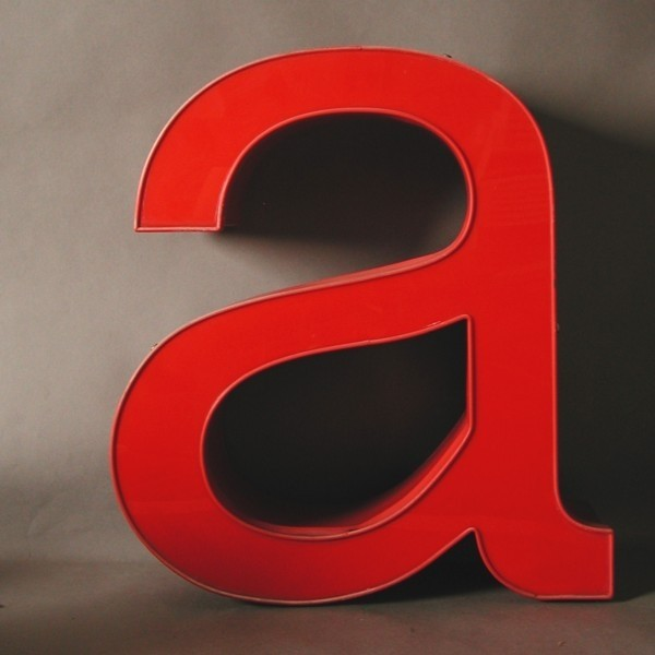 Small vintage sign letter -...