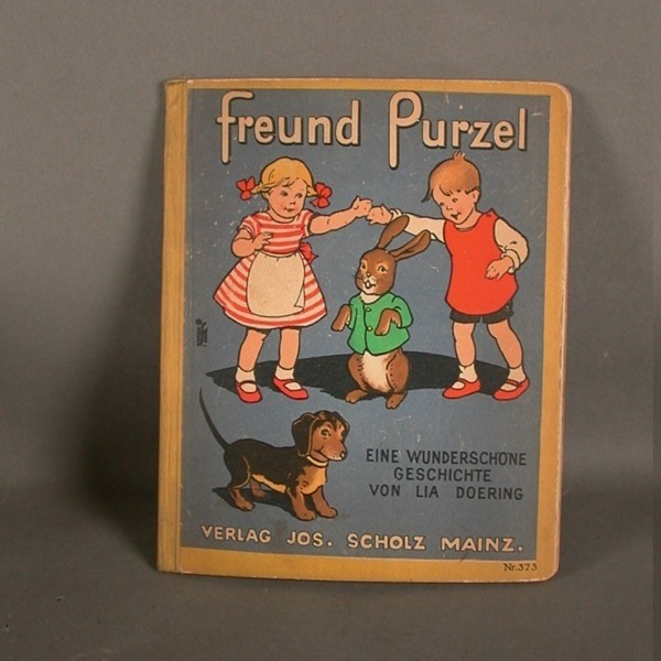 Kinderbuch. Freund Purzel....