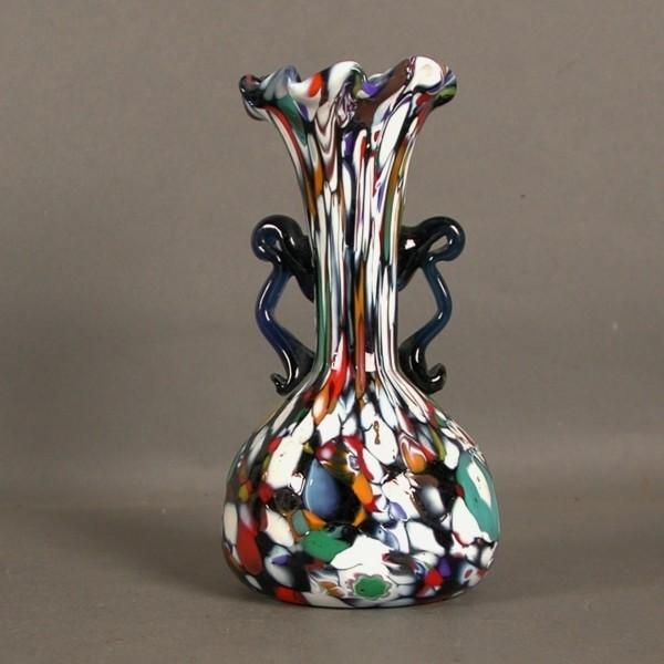 Murano. Glass vase....