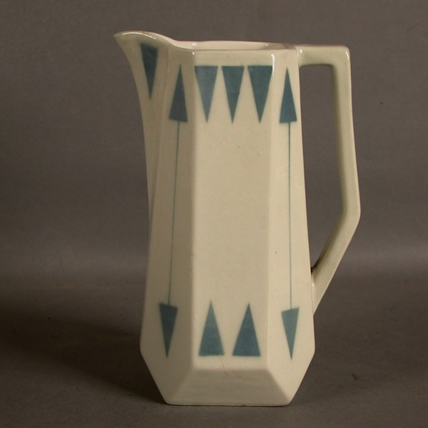 Art Nouveau. Ceramic milk...