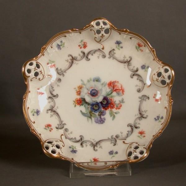 Two porcelain plates....