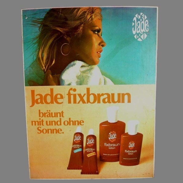 Advertising PVC sign. Jade...