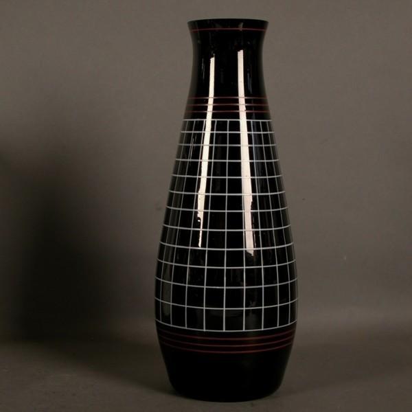 Vintage. Glass vase. 1950 -...