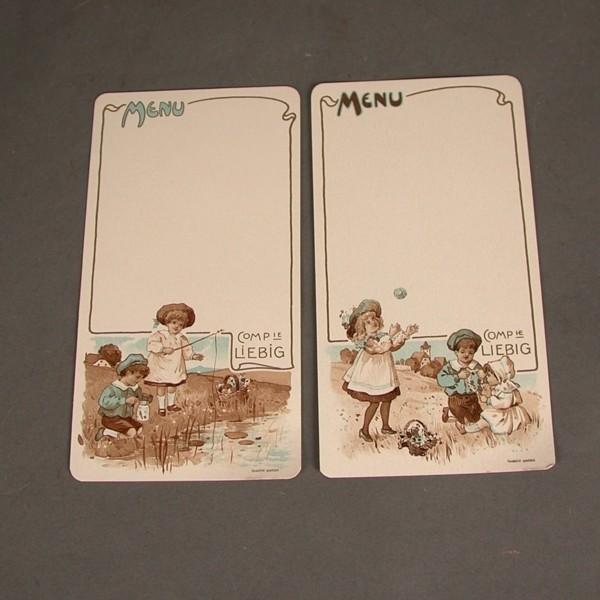 Art Nouveau. Seis cartas de...