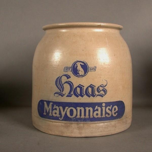 Haas mayonnaise. Ceramic...