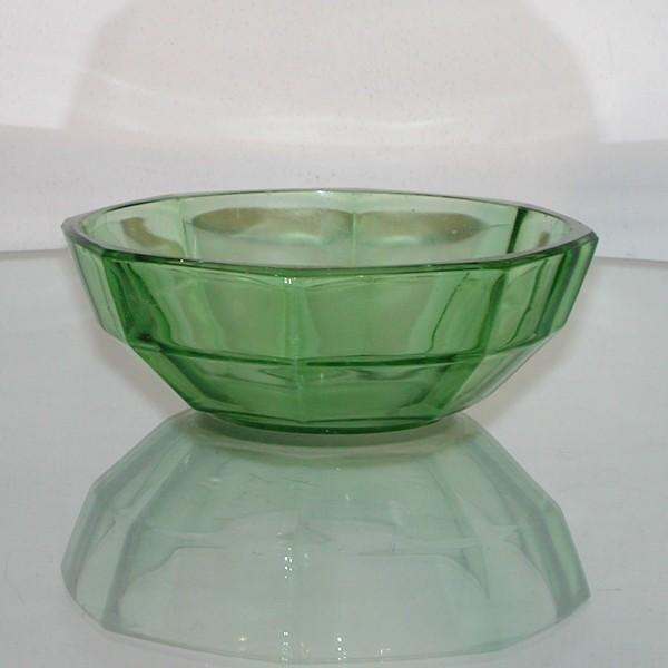 Art Deco fuente de cristal....