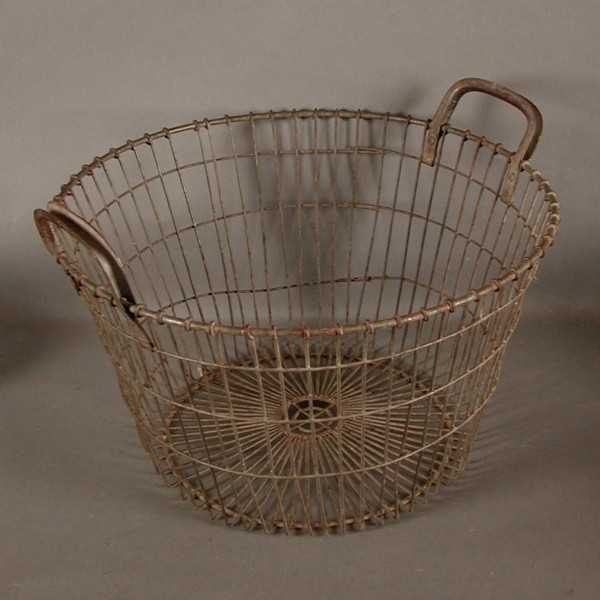 Metal basket for potatoes....