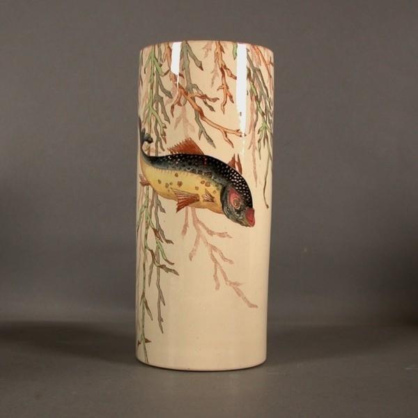 Art Nouveau. Ceramic vase....