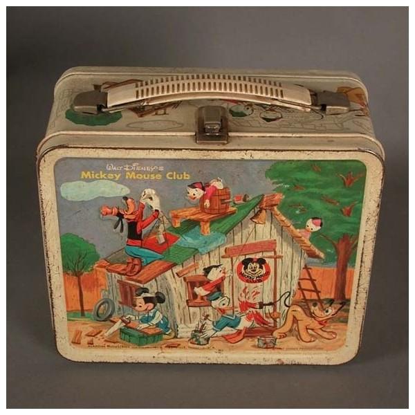 Tin Lunchbox. Walt Disney....