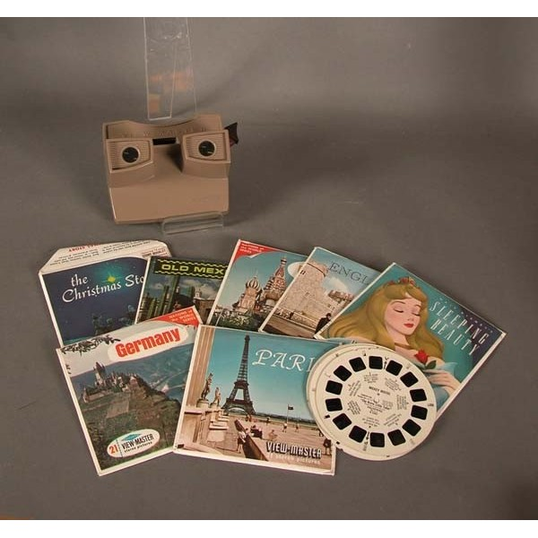 View Master. Stereo viewer....