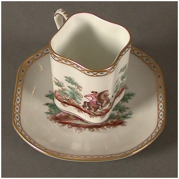 Porcelain collecting cup....