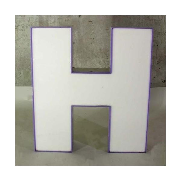 Big vintage sign letter - H...