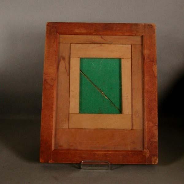 Wood photo frame. 1850 - 1880.