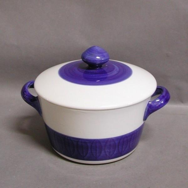Pot with lid. Koka...