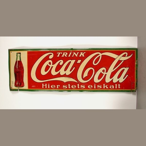 Advertising sign. Coca -...