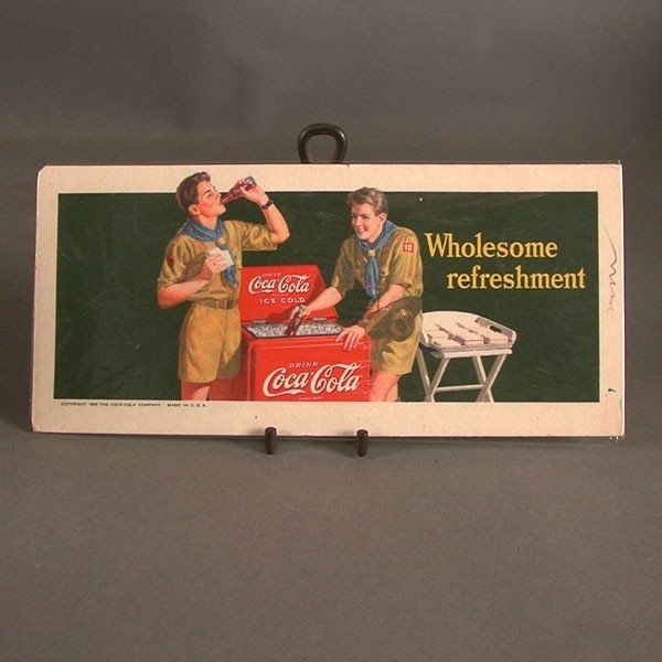 Coca - Cola Blotter....