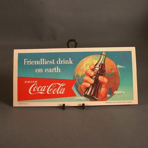 Coca - Cola Ink - Blotter....