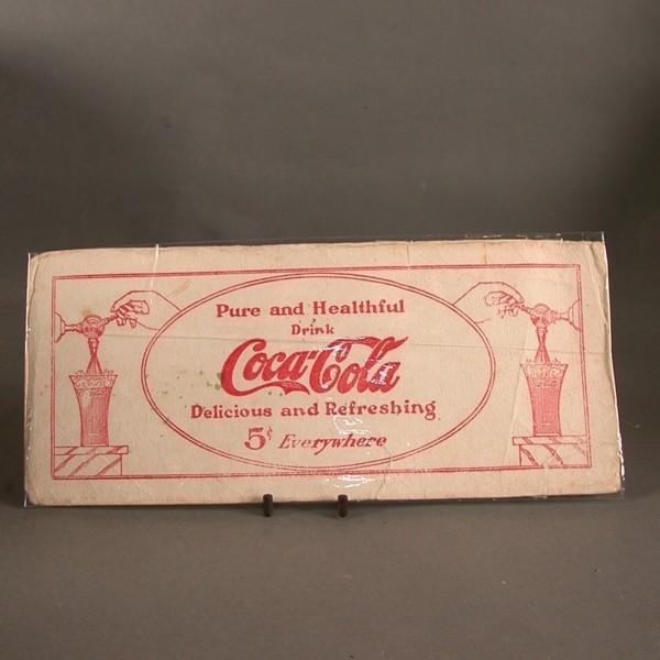 Coca - Cola Blotter. Pure...