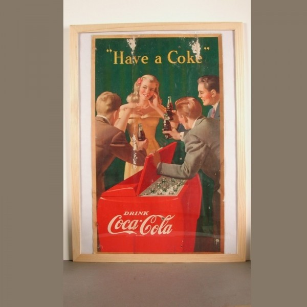 Coca - Cola. Cardboard...