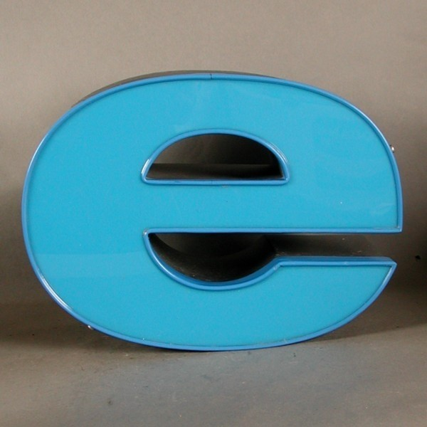 Big vintage sign letter - e...