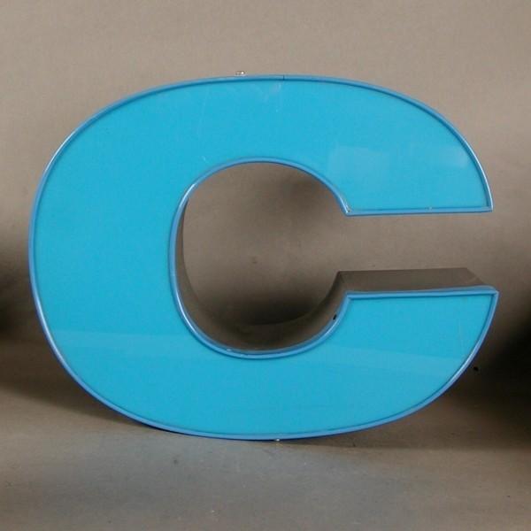 Big vintage sign letter - c...