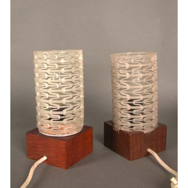 Two table lamps. 1970 - 1975.