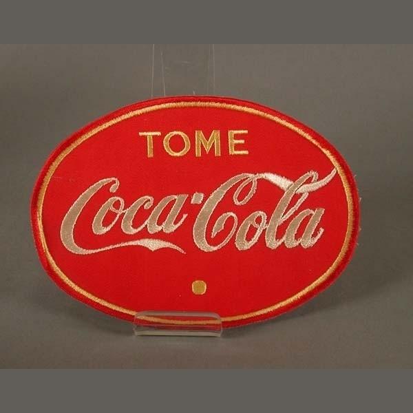 Coca Cola. Aufnäher aus...