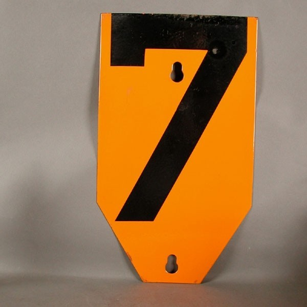 Big vintage sign cipher - 7...