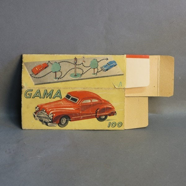 Original tin car box for...