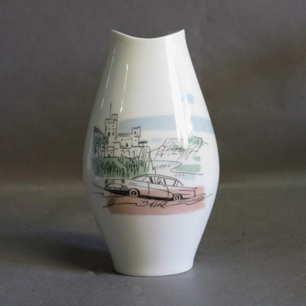 "Porcelain vase ""Opel Rekord..."