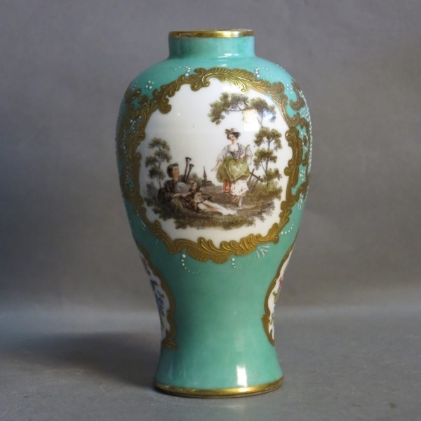Porcelain vase. Bourdois &...