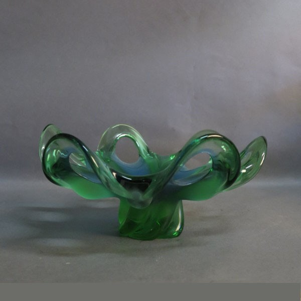 Scandinavian glass bowl....