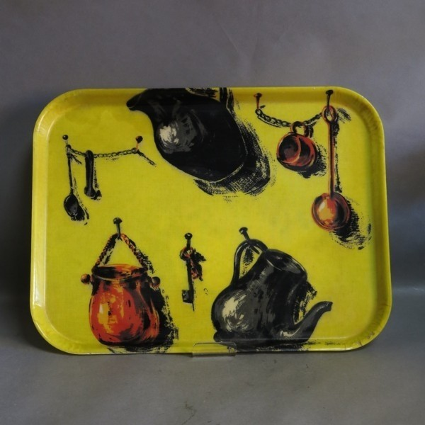 Vintage pvc serving tray in...