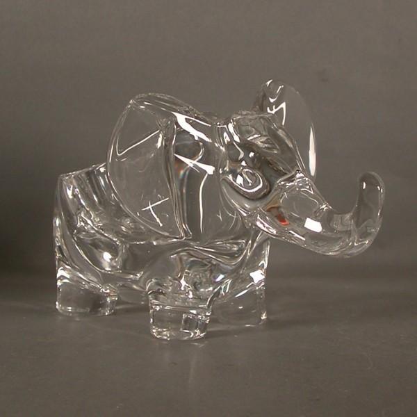 Vintage Glas - Elefant....