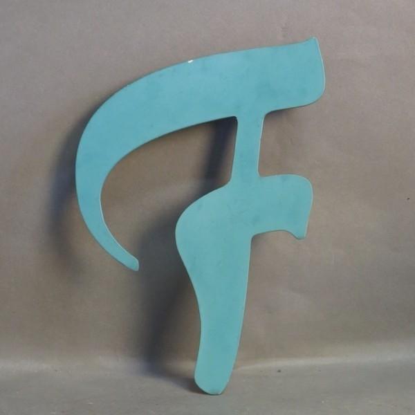 Big vintage sign letter - F...