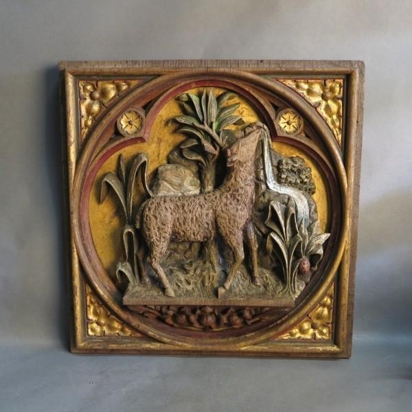 Altarrelief : Lamm Gottes....
