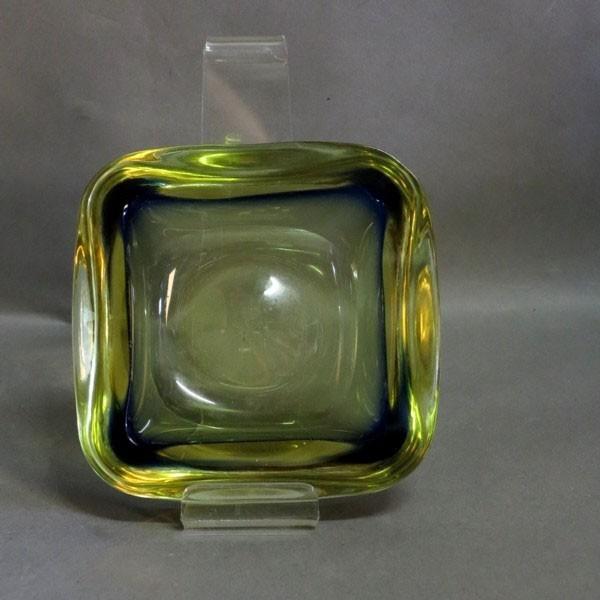 Murano glass ashtray. Italy...