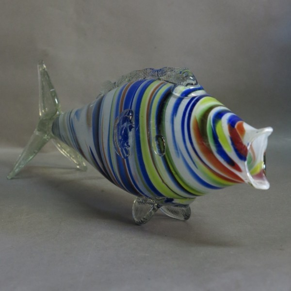 Big glass fish. Murano....