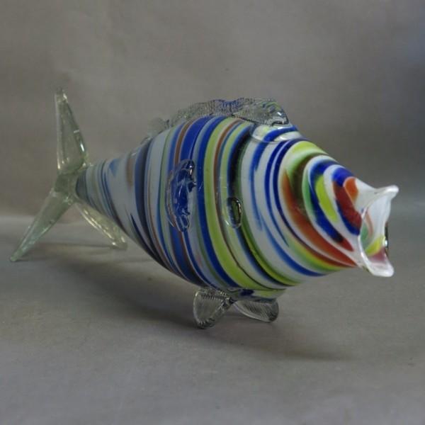 Grosser Murano Glasfisch....