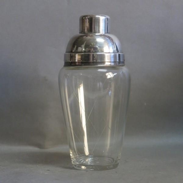Vintage cocktail shaker....
