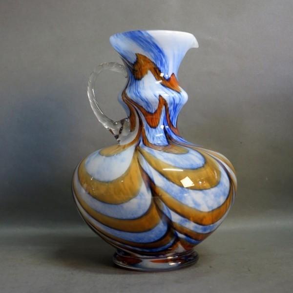 Murano glass pitcher. Carlo...