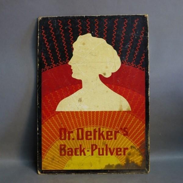 Advertising cardboard. Dr....