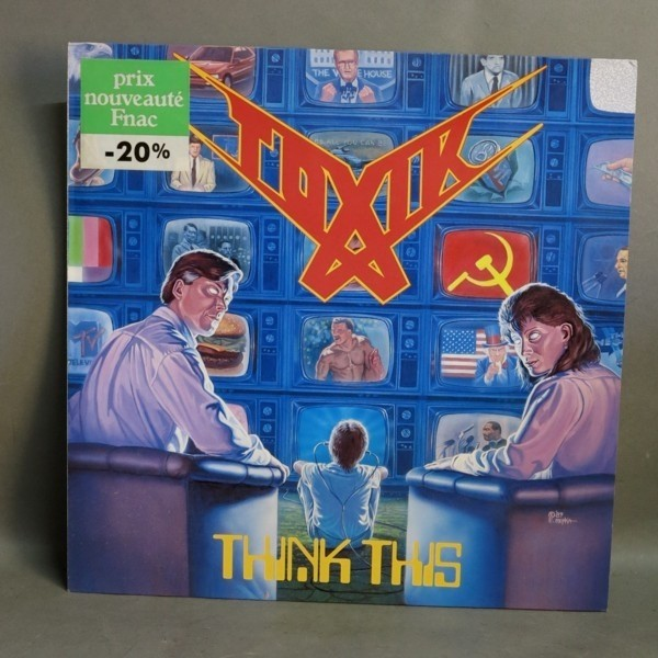 LP. Vinyl. Toxik - Think...