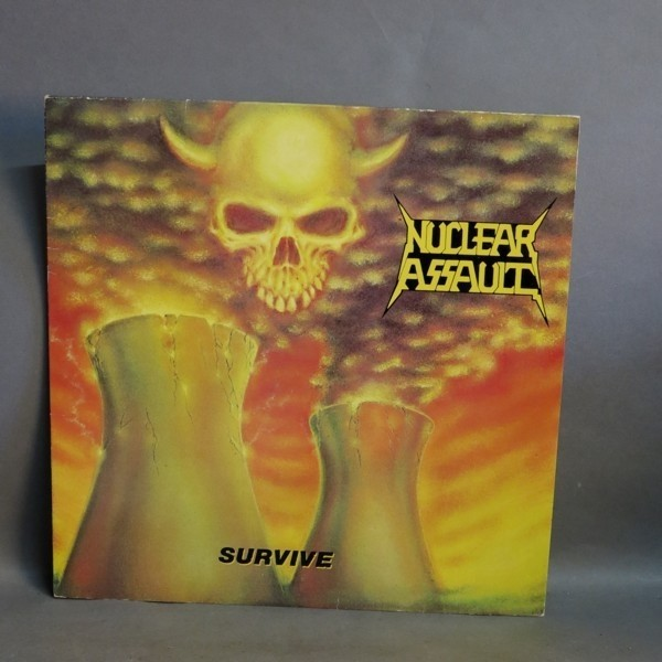 LP. Vinyl. Nuclear Assault...