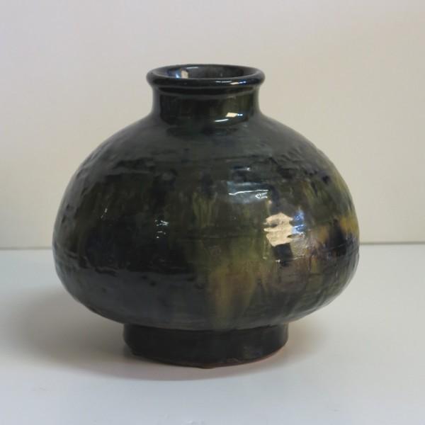 Ceramic vase. Karlsruher...