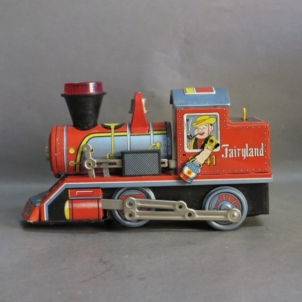 Tin toy. Fairyland Locco....