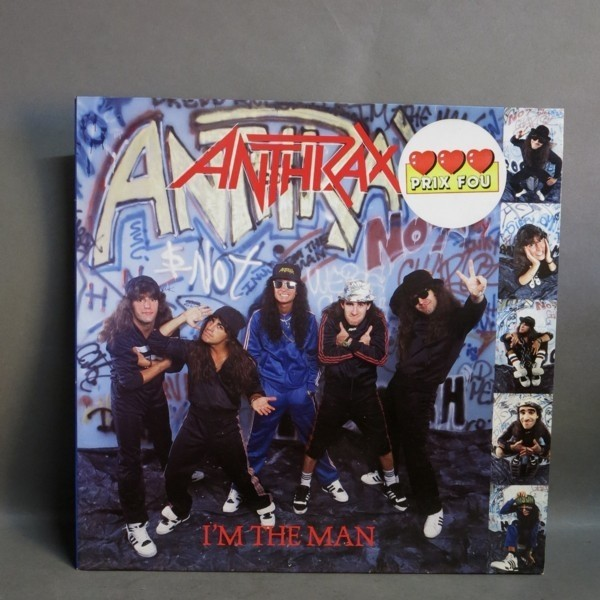 LP. Anthrax - I´m the Man....