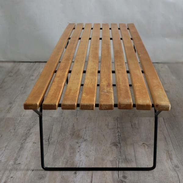 Bertoia Bench for Florence...